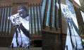 Street Art na budově Tate Modern v Londýně