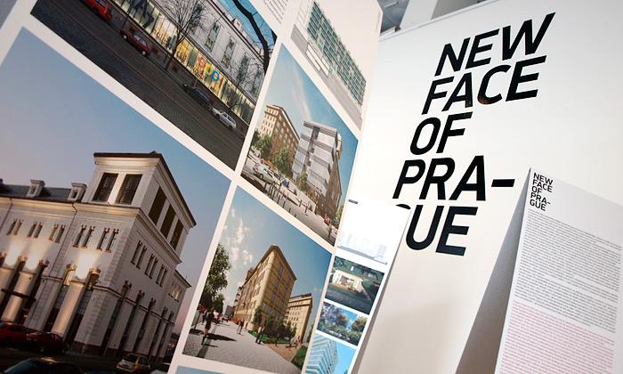 Architektura Prahy navýstavě New Face of Prague