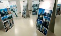 Druhé patro výstavy New Face of Prague ve sklepení centra
