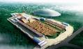 Dočasná Laoshanská dráha pro závody BMX v Pekingu