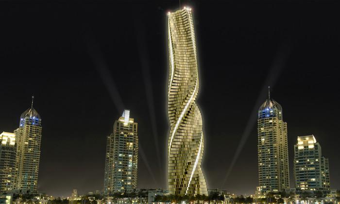 V Dubaji sehlásí oslovo dynamická architektura