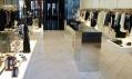 Nový český Boutique Galliano v Praze a jeho interiér
