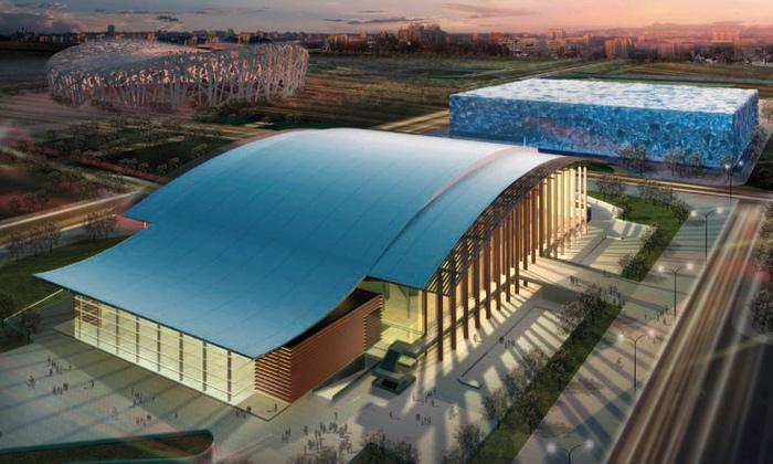 Stadion halových sportů německou chloubou Číny