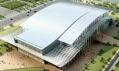 Vizualizace Národního stadionu pro halové sporty v Pekingu