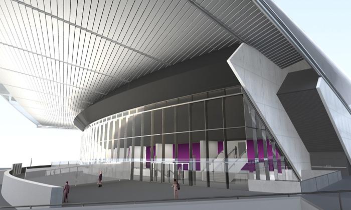 Saint-Étienne dokončilo koncertní halu Zenith