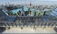Maximálně prosklená vyhlídka na město i celou Čínu