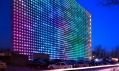 První čínská ekologická digitální stěna použitá naarchitektuře