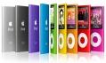 Všechny barevné varianty ze všech natočení 8GB přehrávače iPod nano