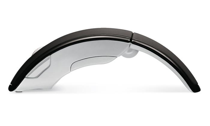 Microsoft předvedl skládací myš Arc Mouse