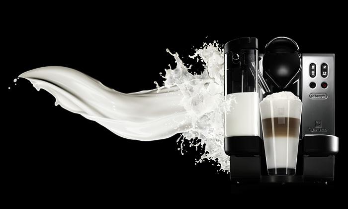 Nespresso má nový kávovar Lattissima pěnící mléko
