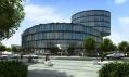 Nejpozoruhodnější budova projektu Q5 Waltrovka ve tvaru stočeného hada