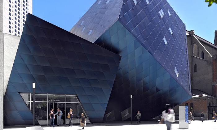 Kalifornie má nové židovské muzeum odLibeskinda