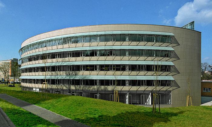 Zlín má nové kulaté Univerzitní centrum odJiřičné
