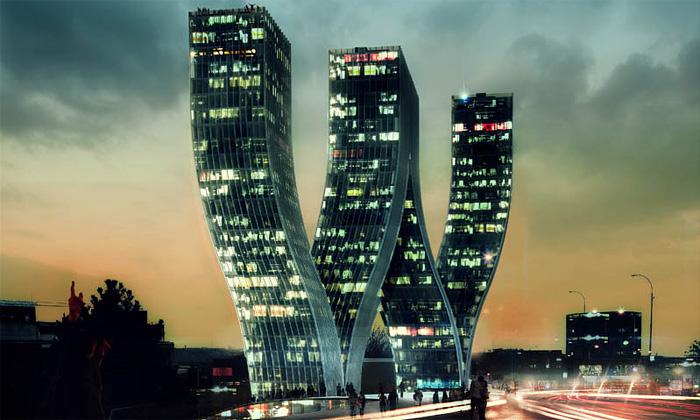 Dánští BIG postaví vPraze unikátní věže Walter