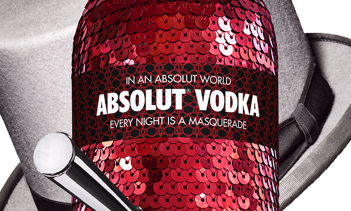 Absolut Vodka představila edici Absolut Masquerade