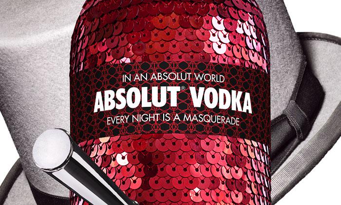 Absolut Vodka představila edici Absolut Masquerade