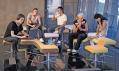 Ukázka použití sedacího nábytku Ai.ro odJana Čtvrtníka veveřejných prostorách