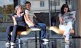 Ukázka použití sedacího nábytku Ai.ro ve veřejných prostorách