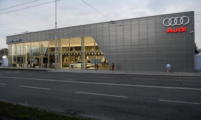 Konec ošklivým autosalonům říká nový Terminal