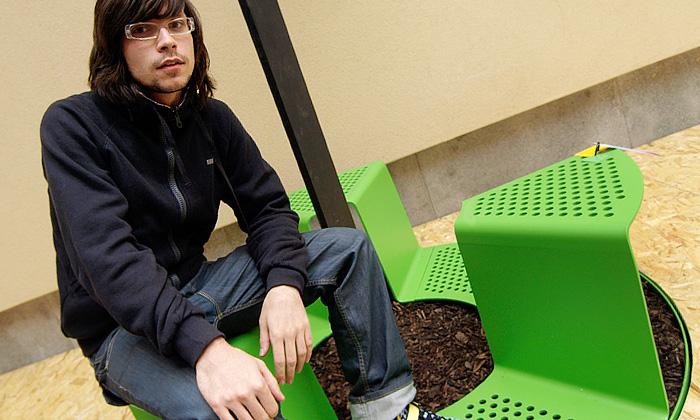 Cena za studentský design pro městský mobiliář