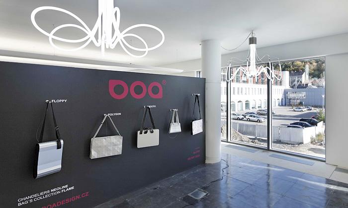 BOA představuje hliníkové tašky aneonové lampy