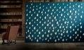 Daniel Piršč a jeho trojrozměrné porcelánové tapety - Rain