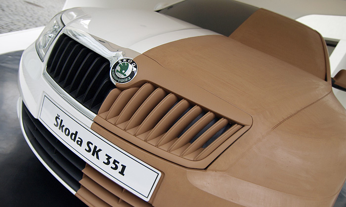 Model faceliftované Škody Octavia naDesignbloku