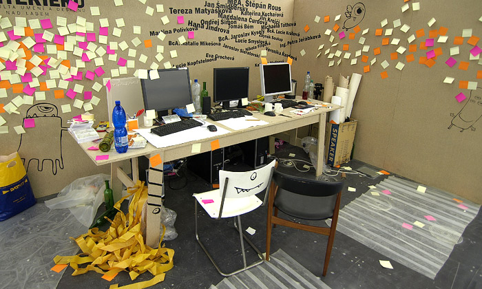 Zábavný ihravý studentský design naDesignbloku