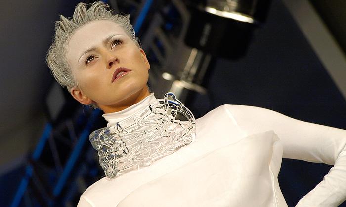 Skleněná Liběna Rochová ukončila Fashion Week