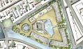 Satelitní pohled na podrobné rozkreslení ostrova
