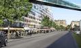 Novostavba má vyrůst na složitém tvaru náměstí Porte de Versailles