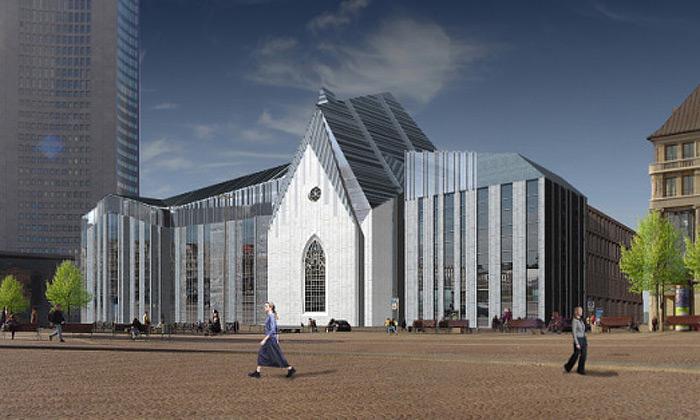 Dokončuje senová lipská univerzita stváří kostela