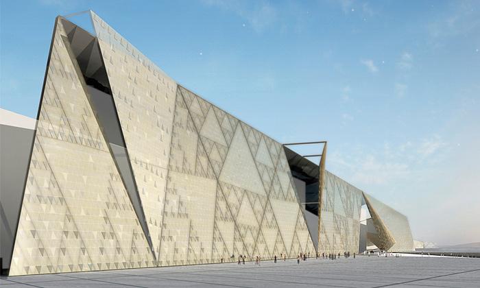 Začíná výstavba Velkého egyptského muzea