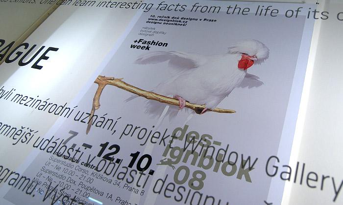 Designblok začal výstavou veWindow Gallery
