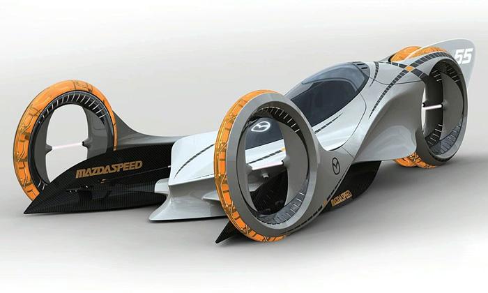 Mazda vítězí modelem Kaan poháněným polymery