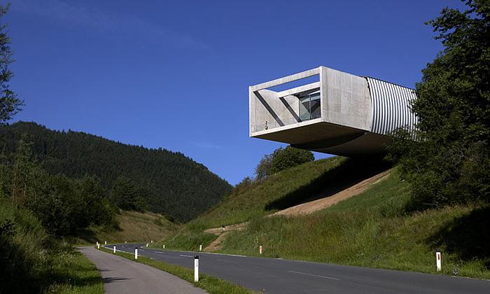 Minimalistické Museum Liaunig protnulo Rakousko