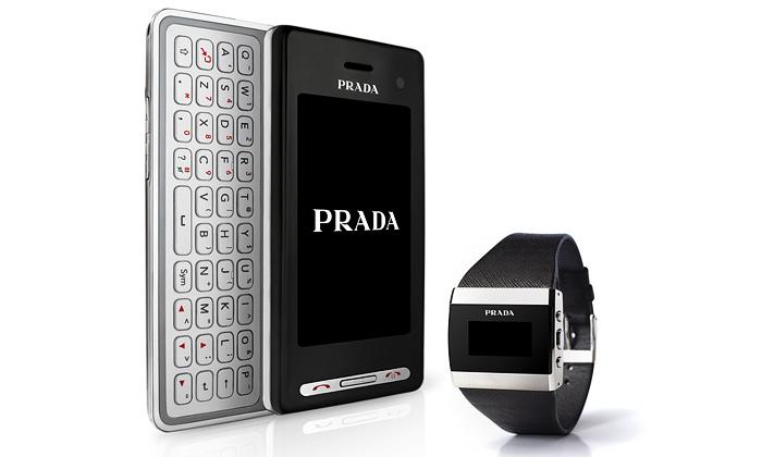 Nový mobil LG Prada ovládají hodinky nadálku