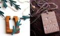 Alias: Komplet z kolekce Strýčka Jedličky a Náhrdelník Dřevěné květy