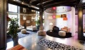 Interiér nového pražského showroomu Bulb vHolešovicích