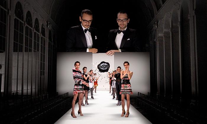 Viktor & Rolf překvapili virtuální módní přehlídkou