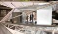 Šatna ve třetím poschodí navrhovaného domu budoucnosti