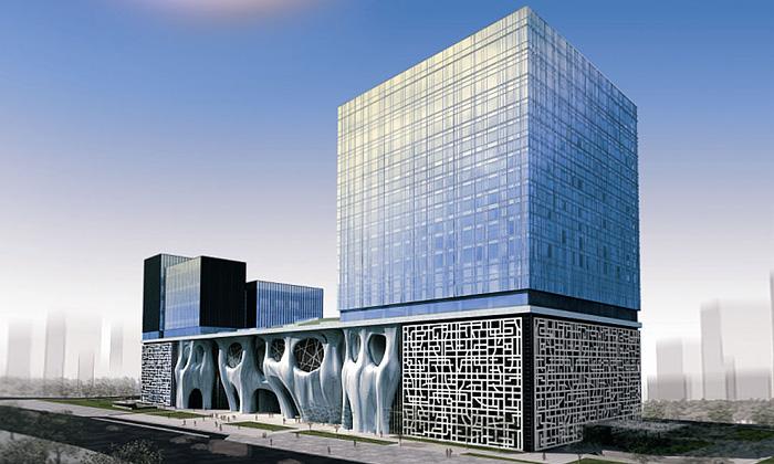 Šanghaj staví himalájské kulturní centrum shotely