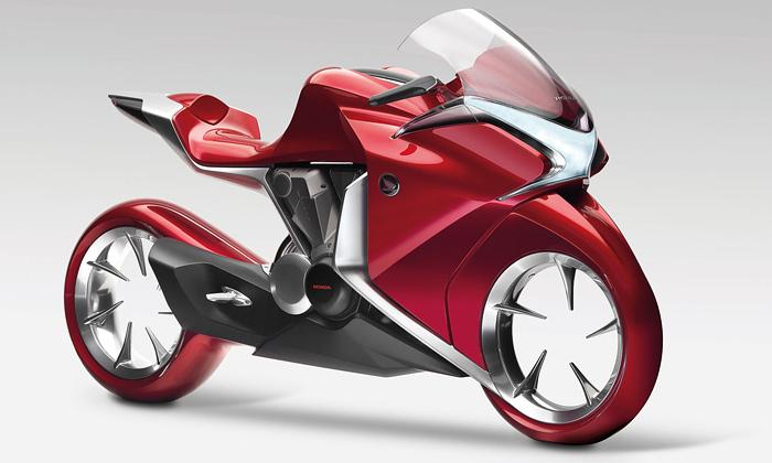 Budoucnost dvou kol nastínila Honda V4 Concept