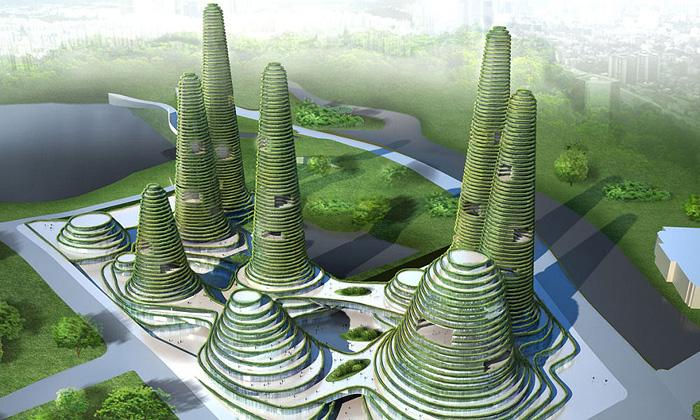 Jižní Korea postaví nové město Gwanggyo zkopců