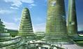 Plánované nové město Gwanggyo nedaleko jihokorejského Soulu od MVRDV
