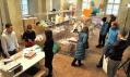 Přizemí Supermarket Designfest 2008 sezastoupením značek bez vlastních stánků