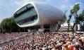 Media Centrum na kriketovém hřišti Lord's Cricket Ground