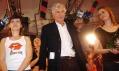 Jan Kaplický na módní přehlídce svých modelů se značkou Leeda