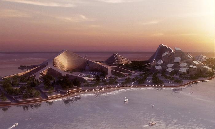 BIG navrhli přestavbu ostrova Zira dopodoby hor