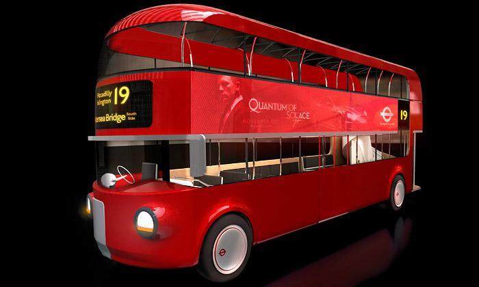 Nový londýnský Doubledecker vyrobí Aston Martin